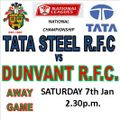 1st XV 16/17 lose to Tata Steel 30 - 21