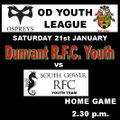 Dunvant Youth vs. South Gower Youth