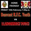 Youth Team lose to Llangennech Youth 12 - 17