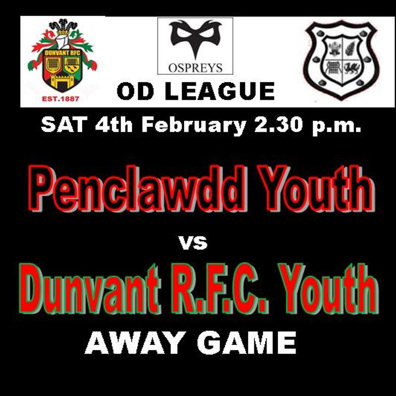 Youth Team beat Penclawdd Youth 7 - 25