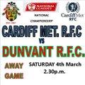 Cardiff Met vs. Dunvant