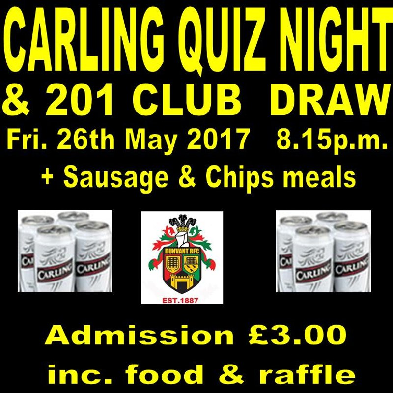 A FAMILY AFFAIR IN OUR 201 CLUB APRIL DRAW