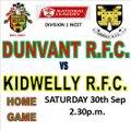 Dunvant vs. Kidwelly