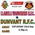 Llanelli Wanderers vs. Dunvant