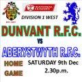 Dunvant vs. Aberystwyth