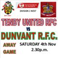 HAT TRICK OF WINS TODAY FOR DUNVANT