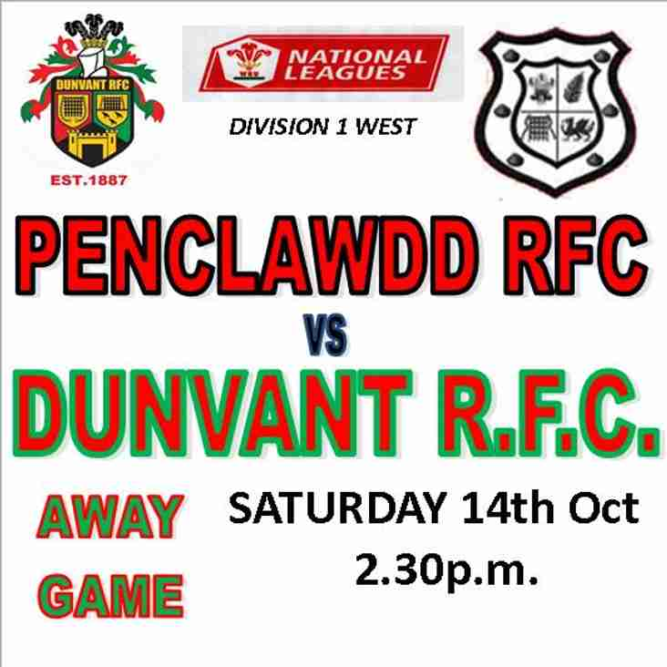 DUNVANT RUN IN 9 TRIES AGAINST THE DONKS