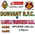 DUNVANT IMPLODE TO  12 MEN BUT STILL CLAIM THE WIN (Sat 13th)
