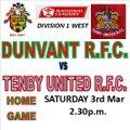 Dunvant vs. Tenby United