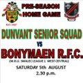 1st XV 17/18 beat Bonymaen R.F.C. 33 - 19