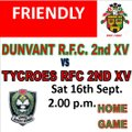 DUNVANT 2nds WIN WELL AGAINST TYCROES