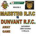 Maesteg RFC vs. Dunvant RFC 1st XV