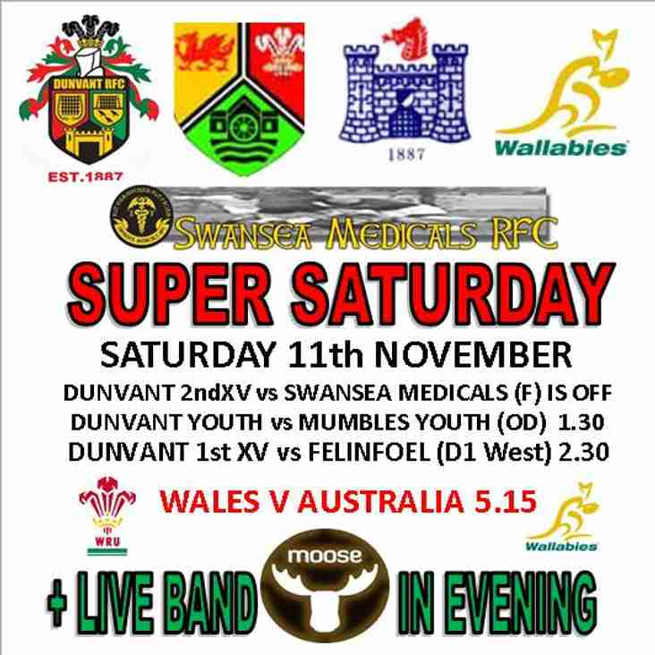 SUPER SATURDAY IS HERE (ALMOST)