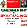 Dunvant 2nds miss the chance to take the win in the last 5mins