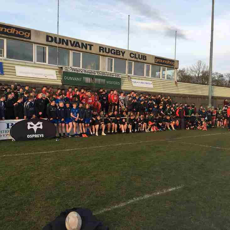 FANTASTIC CPD EVENT HELD AT DUNVANT RFC