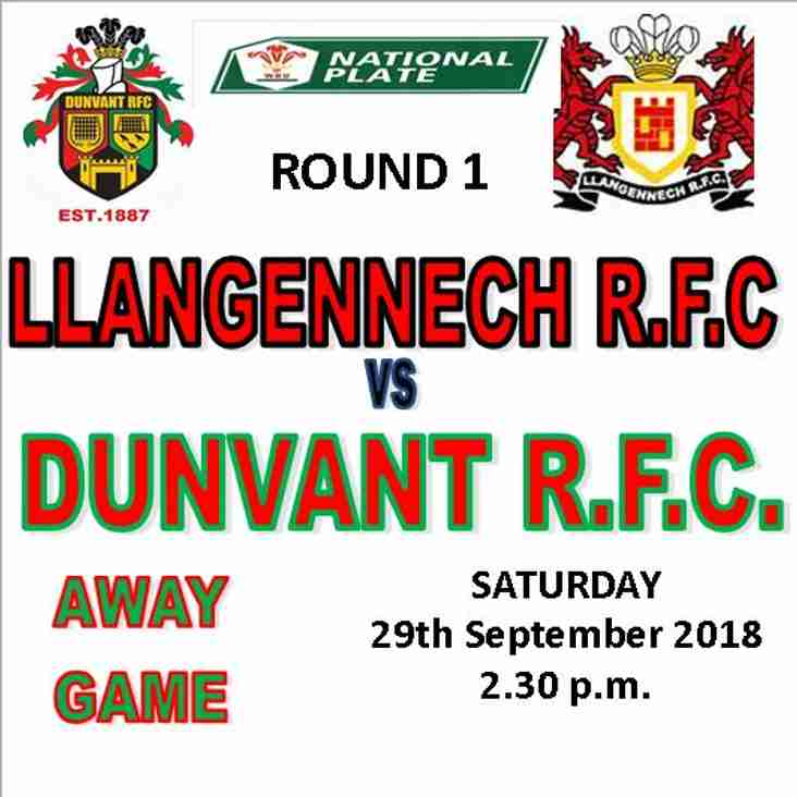 Llangennech beat Dunvant and Youth get a walkover(29thSep)