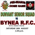 Dunvant Senior Squad vs. Bynea RFC