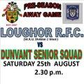 Loughor RFC vs. Dunvant Senior Squad