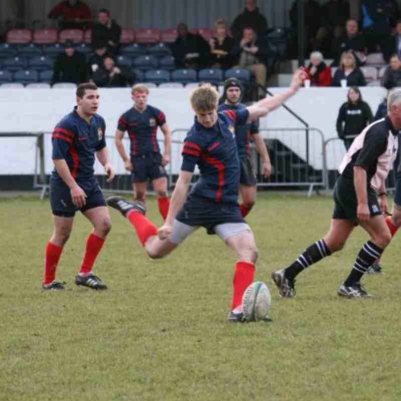 1st XV v Rugby Lions 08/01/2011