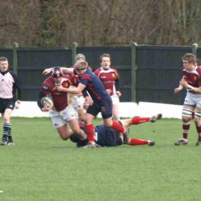 Manchester 1st XV v Fylde 26/02/2011
