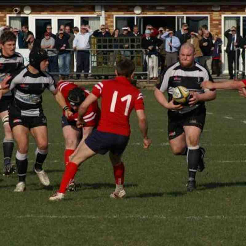 1st XV v Luctonians away 19/03/2011