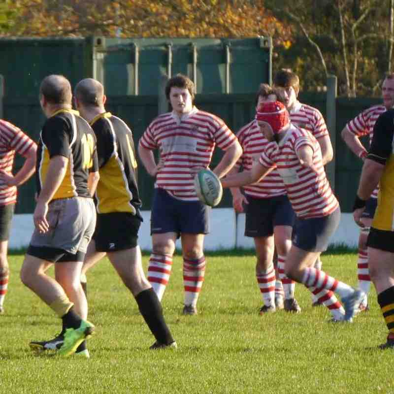 Manchester 2s vs Moore 2s 22/11/2014