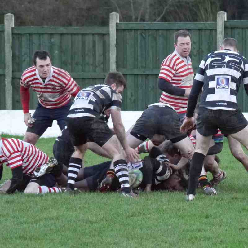 2nd XV v Broughton Pk 4th XV 10/01/2015