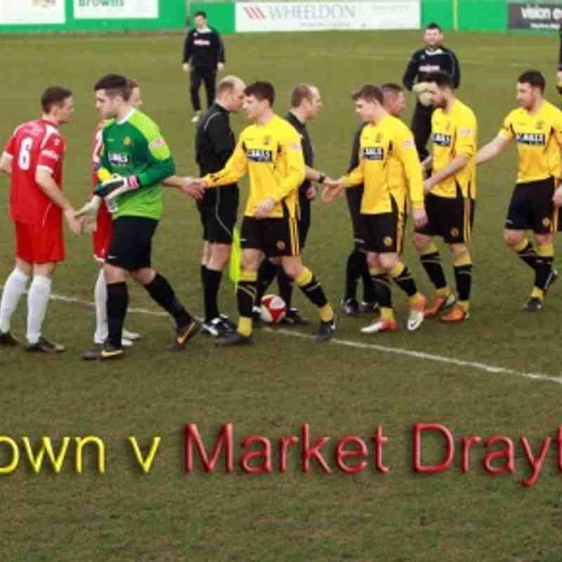 01.03.2014 Market Drayton Town