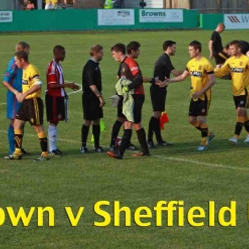 25.07.2014 Sheffield United XI