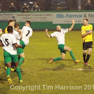 Nailers denied by late equaliser
