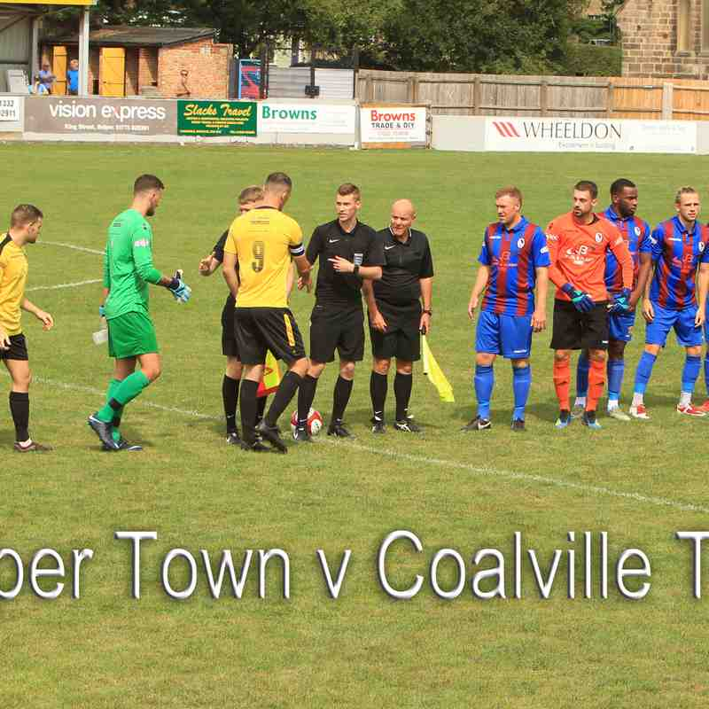Coalville Town (H) 04.08.2018 Pre Season Friendly