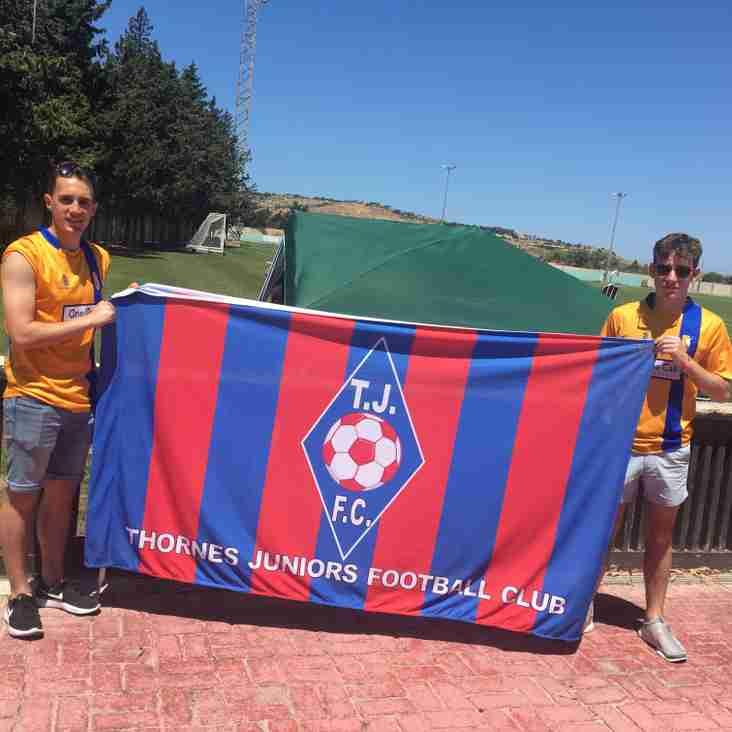 Boys on tour in Malta