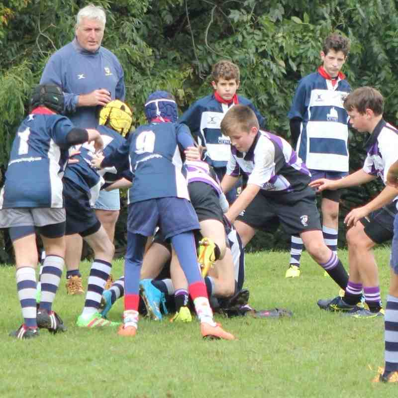 Woodford U13 vs Chelmsford 2016-10-16