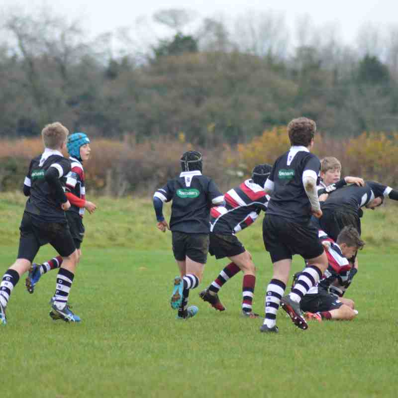 U13's Cleve vs Chippenham RFC