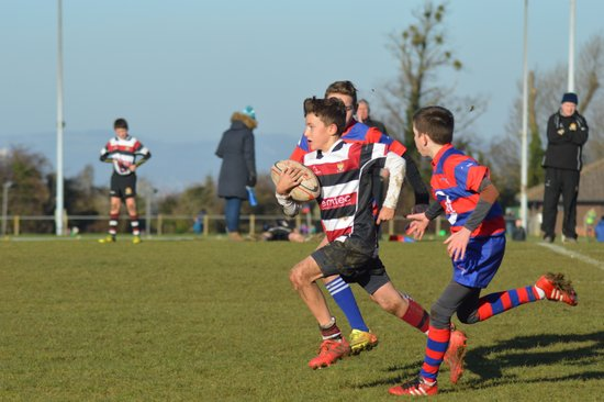 Cleve U13's vs North Bristol RFC- 4/12/16
