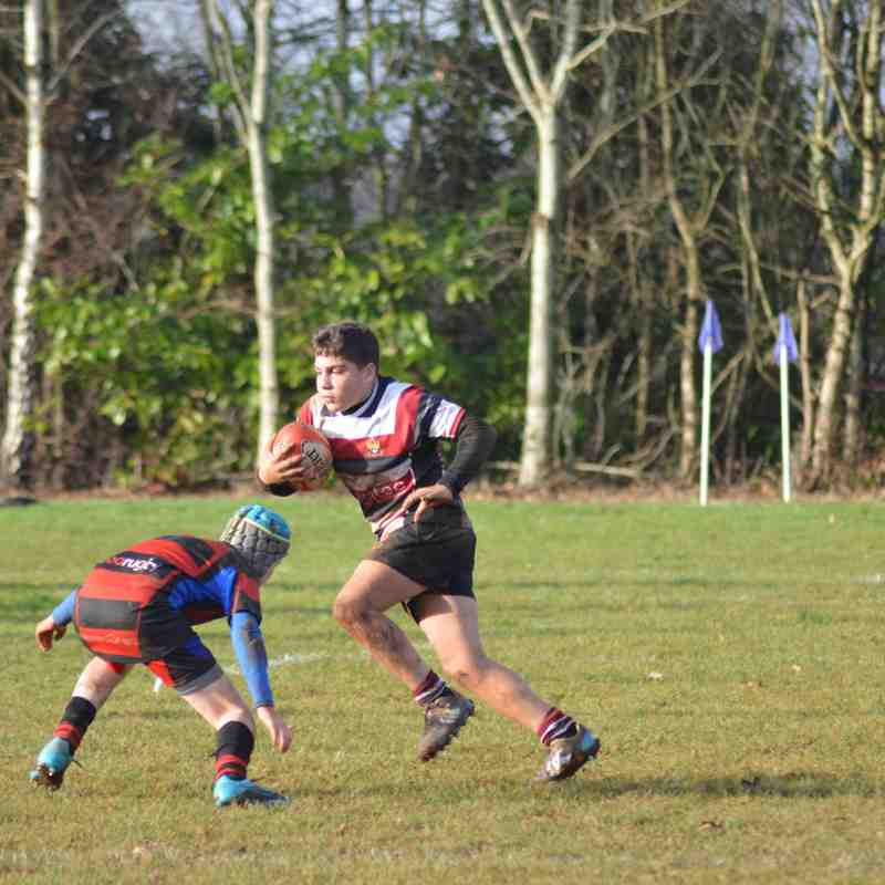 U13's vs Bradford upon Avon Rfc- 11/12/16