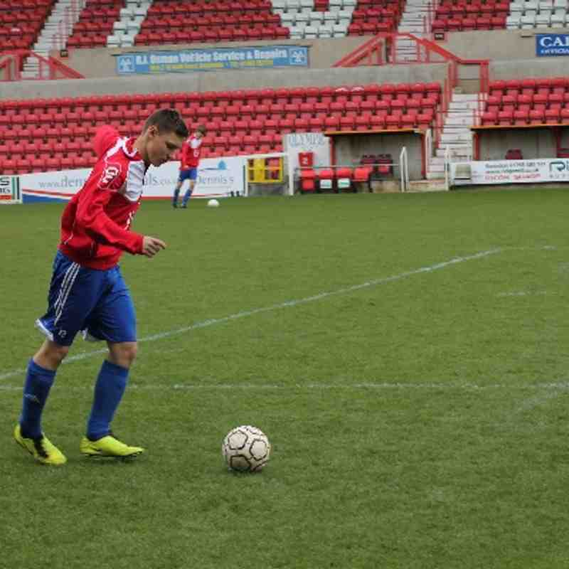 Under 18's Cup Final Win