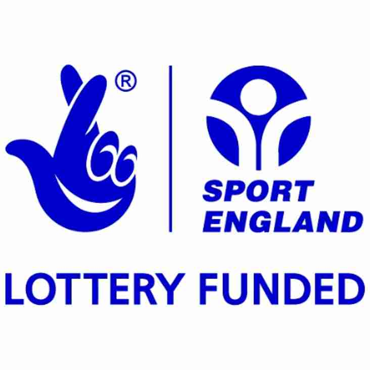 Blues receive £56,000 Sport England. Grant