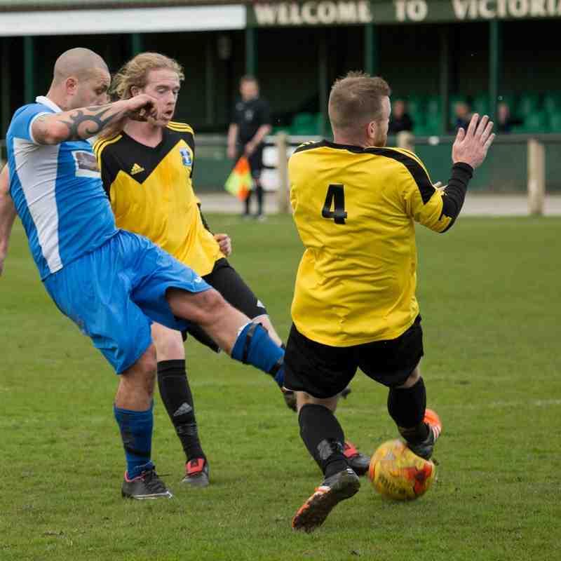 Nelson 5 v 1 Winsford United 16/4/2016