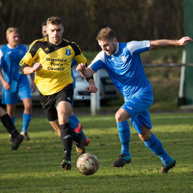 Blues beaten by Winsford while Ladies and Youth win again