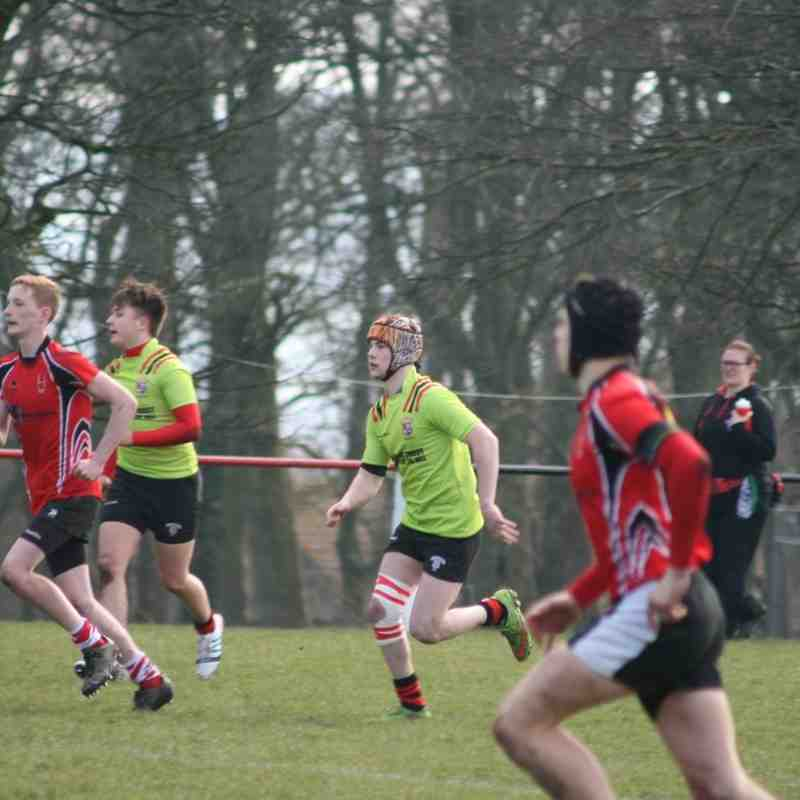 YMCA Colts vs Bolton, National North Shield Final