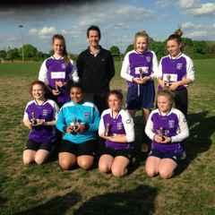 Saints U14 Girls Runners Up At Thatcham Tournament