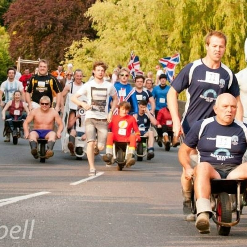 Welly & Wheelbarrow Race  - MARSHALLS NEEDED!