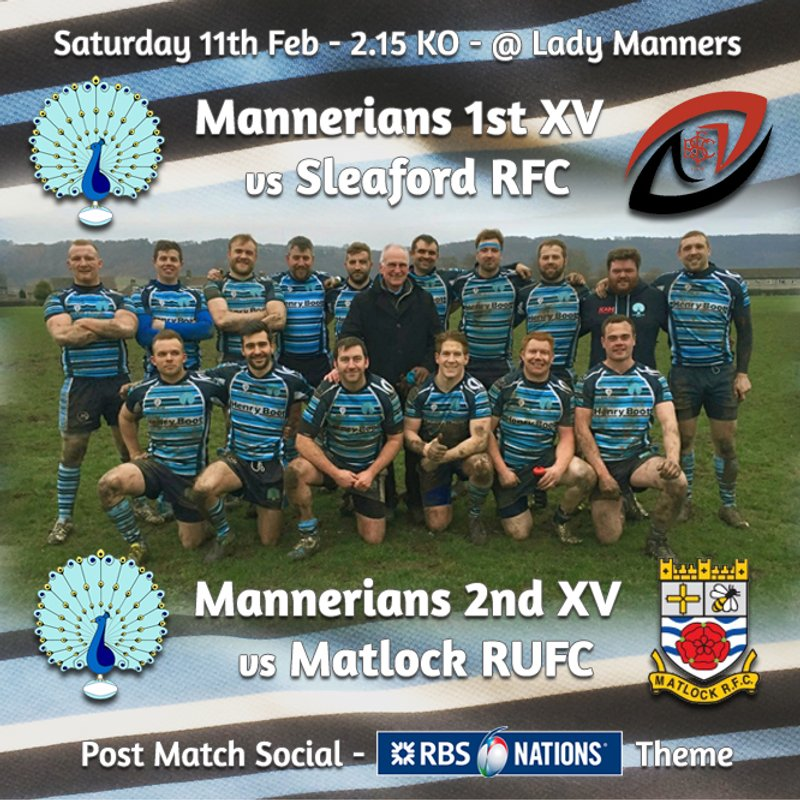 Senior Rugby Saturday 11th February