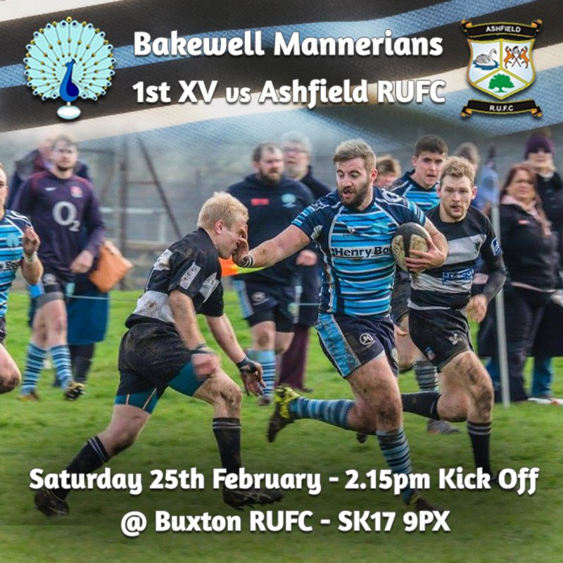 *Senior Rugby Saturday 25th February - GAME MOVED TO BUXTON RUFC*