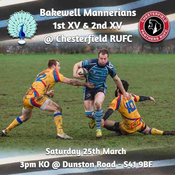 Senior Rugby Saturday 25th March