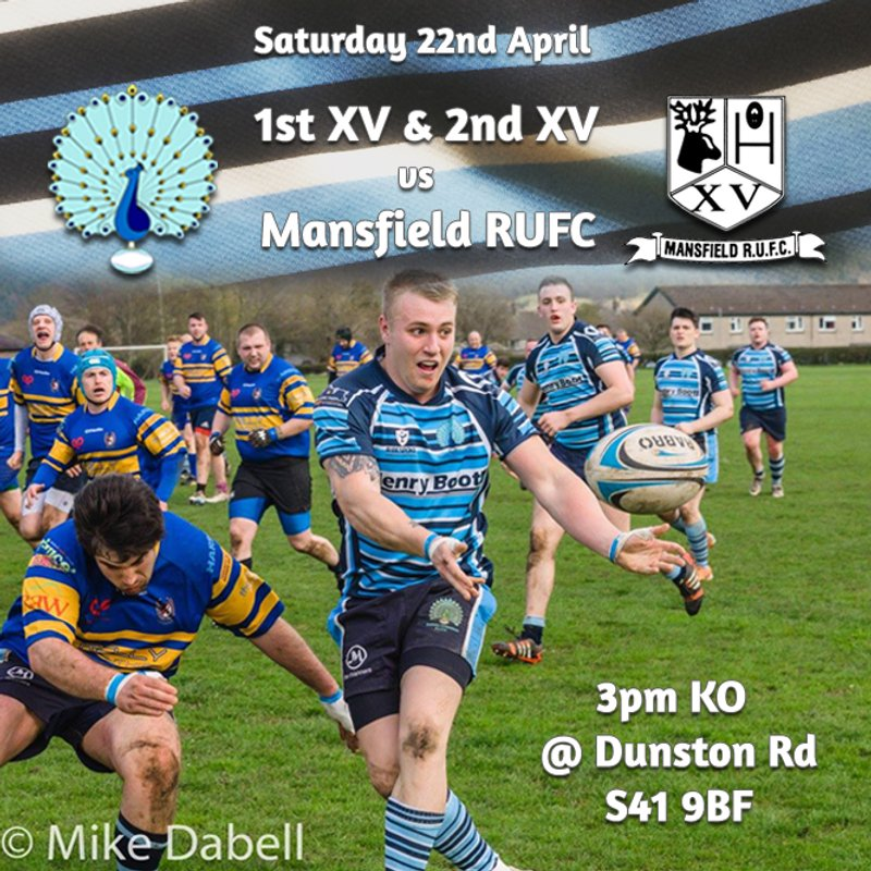Senior Rugby Saturday 22nd April