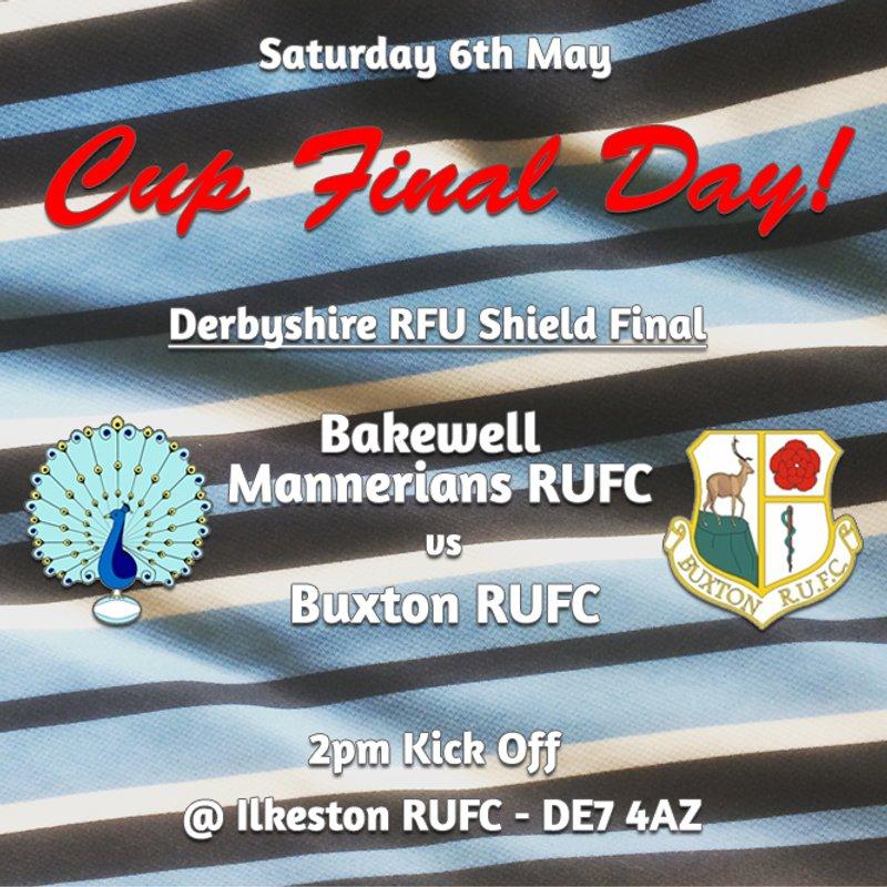 Derbyshire RFU Shield Final - Saturday 6th May