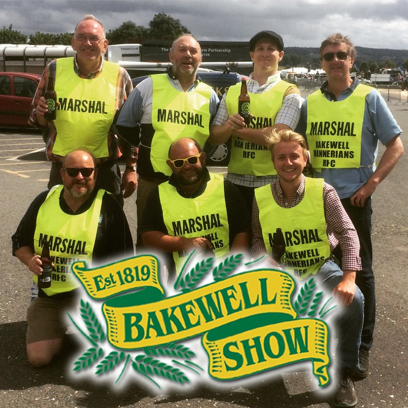 Bakewell Show - MARSHALS NEEDED!