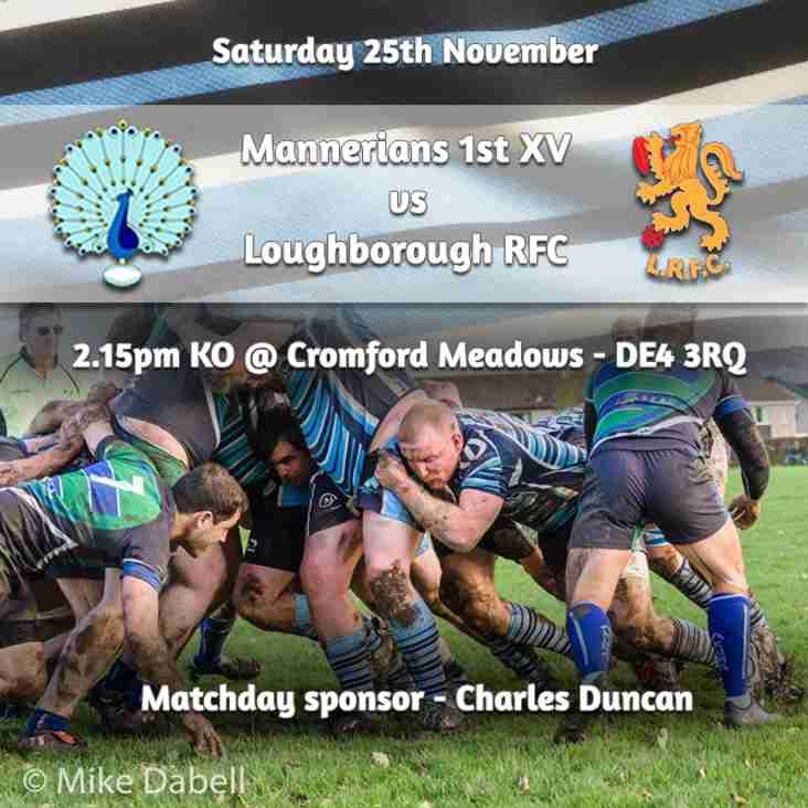 Senior Rugby Saturday 25th November